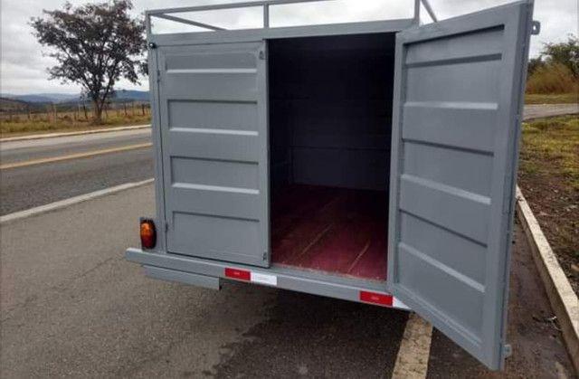Carretinha transporte cargas