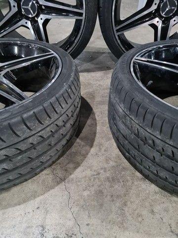Jogo de Rodas Mercedes AMG Aro 19*Maravilhosas*Pneus Novos* - Foto 3