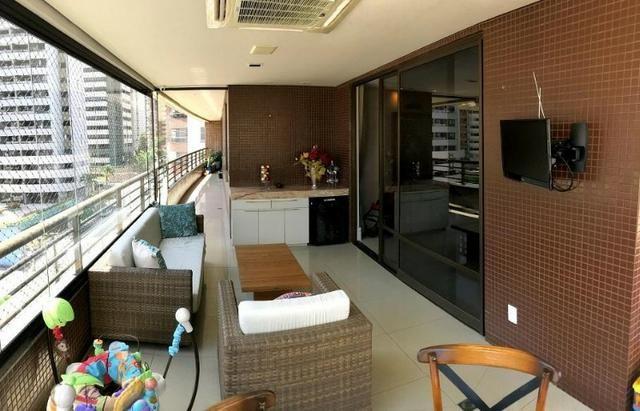 AP1003 Apto. 217m² Um Por Andar 3 Suites Projetado Climatizado, Gab.3 vgs. Prox: Beira Mar - Foto 11