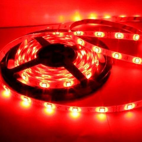 Fita Led 5050 Vermelha Rolo C/ 5m 60 Leds/m Sem Fonte - Foto 4