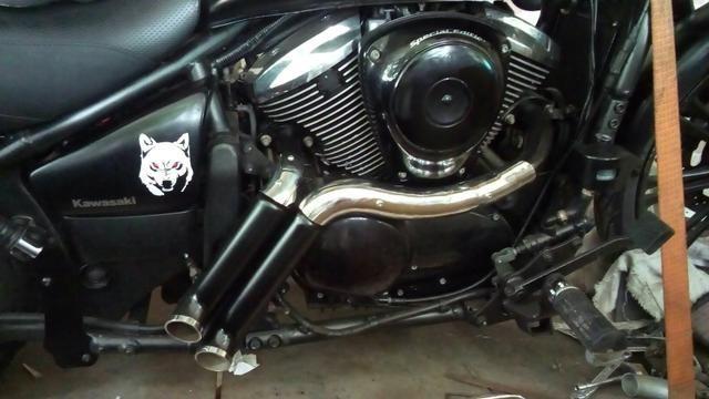 Escapamento e assessórios para motocicletas