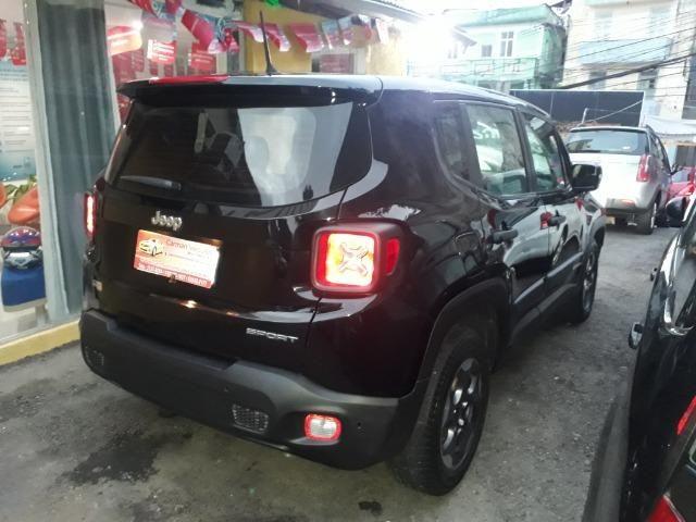Jeep Renegade sport automatico ipva e transferencia gratis financiamos sem entrada 2016 - Foto 5