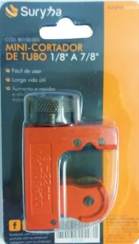Mini Cortador De Tubo Cobre Alumínio 1/8 a 7/8 - Foto 2