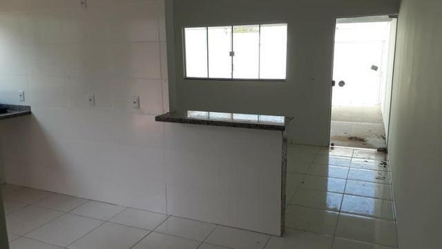 Linda Casa Nova Financia 2/4 Sendo 1 Suíte Na Laje Casa Individual Frente Pra Sombra - Foto 14