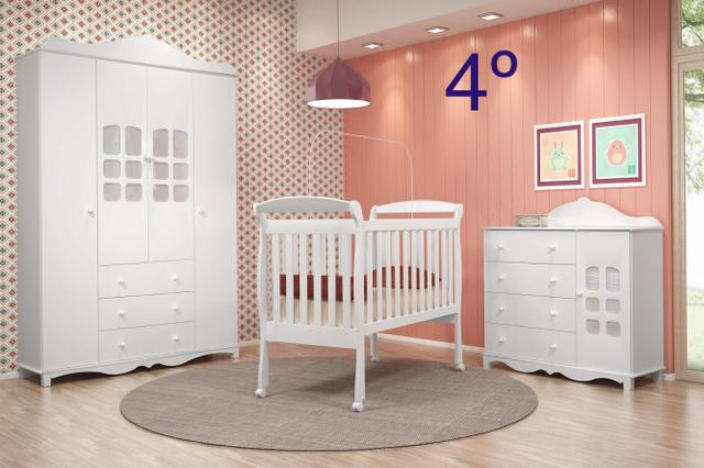 Quarto de Bebê barato 100% MDF - Foto 4