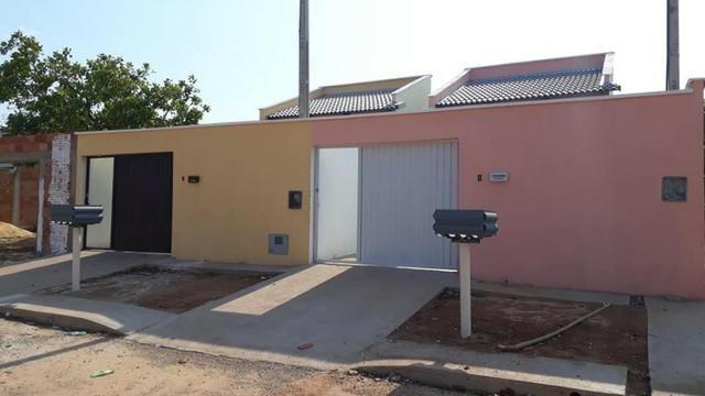 Linda Casa Nova Financia 2/4 Sendo 1 Suíte Na Laje Casa Individual Frente Pra Sombra - Foto 11