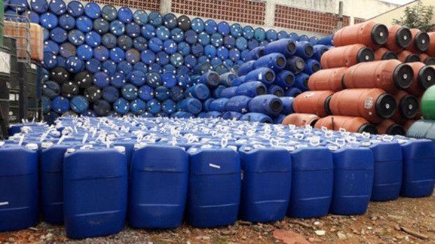 JR Tambores - Galão Plastico 50 Litros - Tambor/Bombona - Foto 2