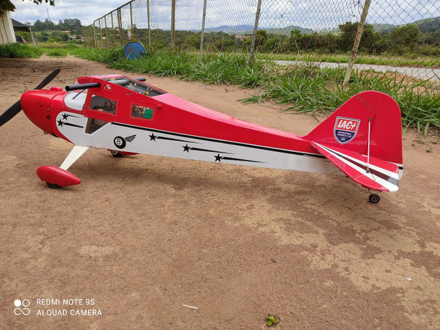 Aeromodelo Taylor craft para dle 30 - Foto 5