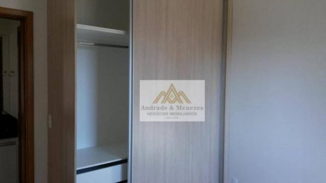 Apartamento com 1 dormitório para alugar, 42 m² por R$ 850/mês - Nova Aliança - Ribeirão P - Foto 10