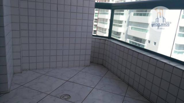 Apartamento com 2 dormitórios à venda, 95 m² por R$ 270.000,00 - Aviação - Praia Grande/SP - Foto 3