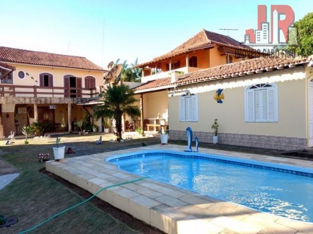 Casa duplex com piscina e Casa de hospede, frente para Lagoa de Araruama Balneário - São P - Foto 6