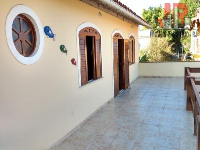 Casa duplex com piscina e Casa de hospede, frente para Lagoa de Araruama Balneário - São P - Foto 8