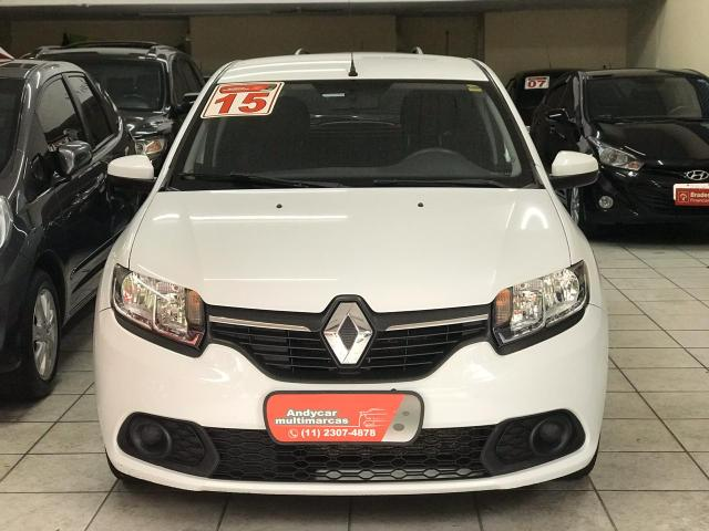 Renault Sandero expression 2015 1.6 flex completo