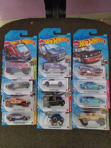 Hot Wheels coleção 2021