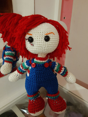 Bonecos de crochê - Foto 5