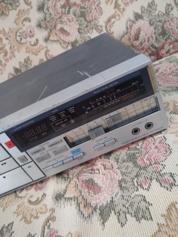 Tapedeck Sony TC-FX510R(leia a descrição) - Foto 3