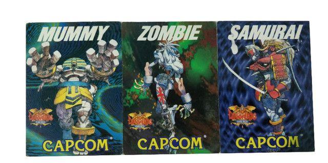 Coleção de Cartão Darkstalker Capcom Arcade Antigo - Foto 4