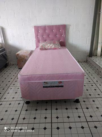 Cama Box Solteiro Personalizada