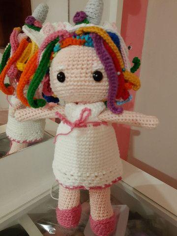 Bonecos de crochê - Foto 3