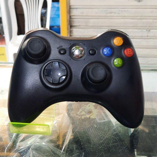 Controle de Xbox 360 seminovo original com garantia