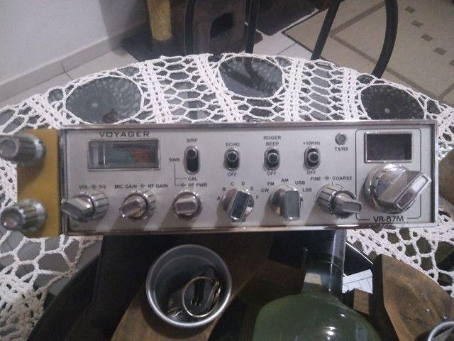 Rádio Px Voyager VR 87M com eco - Foto 5