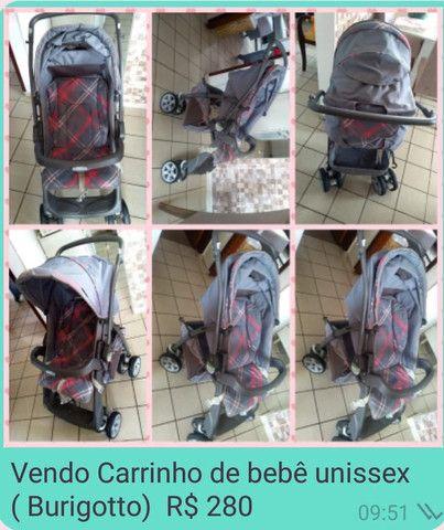Carrinho de bebê Burigotto - Foto 4