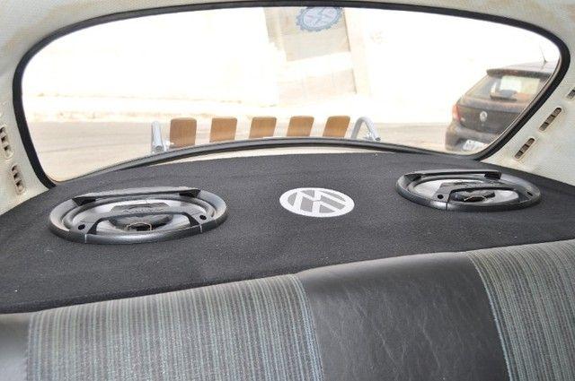 Volkswagen Fusca 79 1.300 Carro de colecionador, placa preta   Nunca foi restaurado. - Foto 15