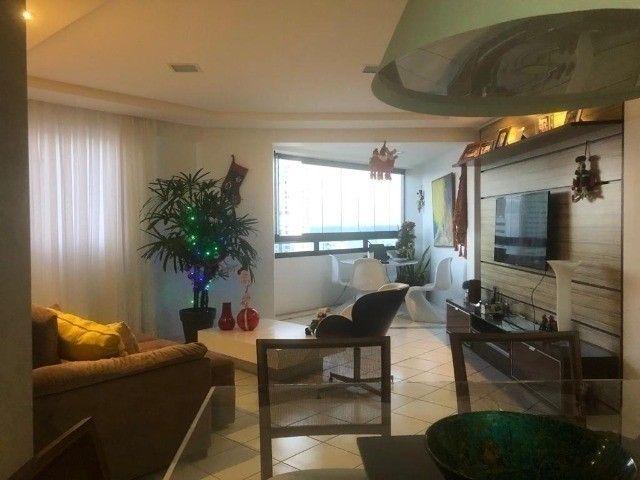 RB 074 Aparatamento todo reformado 3 quartos 128m² 2 suites 2 vagas cobertas -Boa viagem - Foto 11