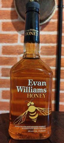 Whisky de Mel  Evan Williams Honey 1 Litro.