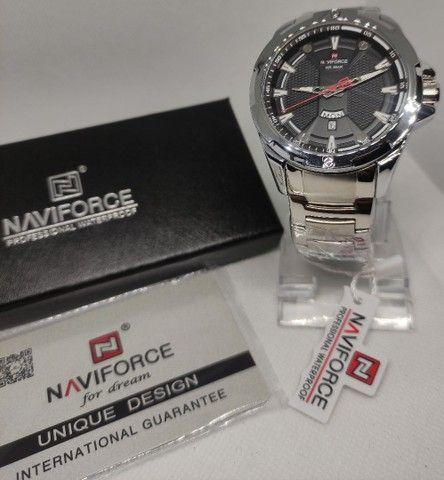 Relógio Ponteiro Naviforce Original