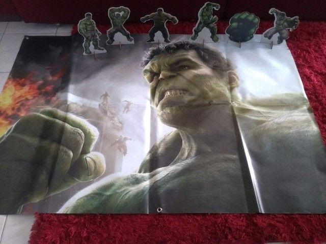 Kit Decoração Hulk  - Foto 2