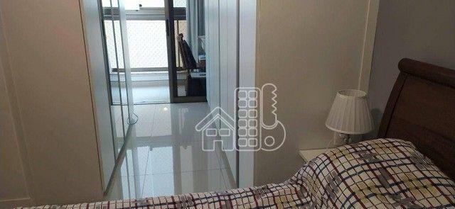 Apartamento com 3 dormitórios à venda, 98 m² por R$ 1.300.000,00 - Icaraí - Niterói/RJ - Foto 15