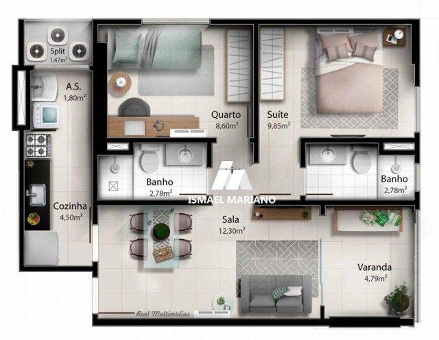 Apartamento à venda, 55 m² por R$ 347.000,00 - Praia de Itaparica - Vila Velha/ES - Foto 19