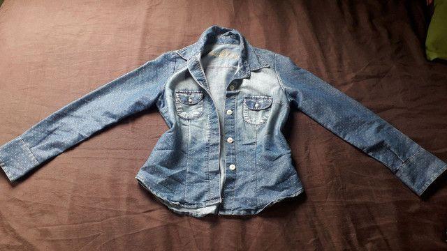 Jaquetas jeans  tamanho 36 - Foto 2
