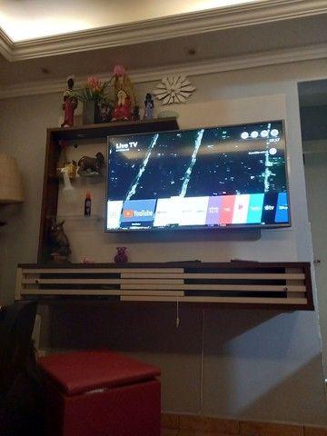 "Painel Suspenso para TV de 50"" Frizz Select - Madetec<br> - Foto 4"