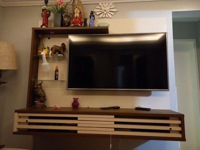 "Painel Suspenso para TV de 50"" Frizz Select - Madetec<br> - Foto 5"