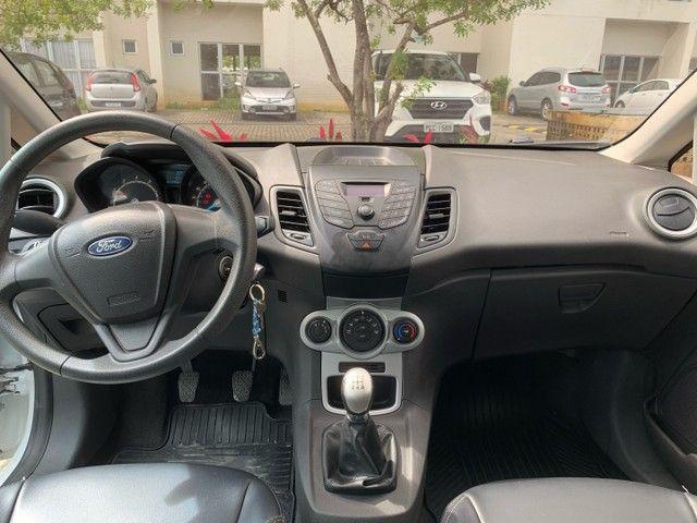 Ford New Fiesta SE 1.6 16V 2017 (Mec) Banco de couro - Foto 5
