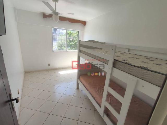 Apartamento com 3 dormitórios para alugar, 90 m² por R$ 2.800,00/mês - Algodoal - Cabo Fri - Foto 5