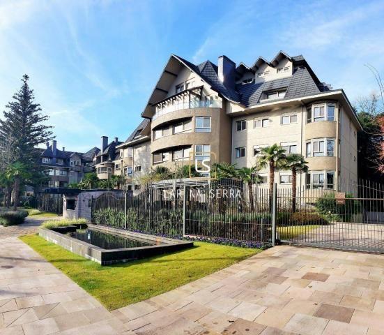 Apartamento à venda, 268 m² por R$ 3.655.884,30 - Centro - Gramado/RS