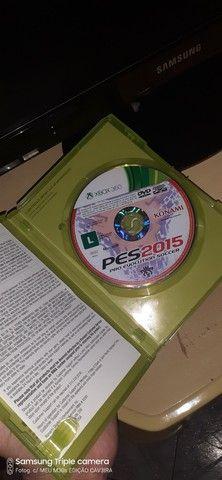 PES 2015 ORIGINAL XBOX 360 MIDIA FISICA  - Foto 3