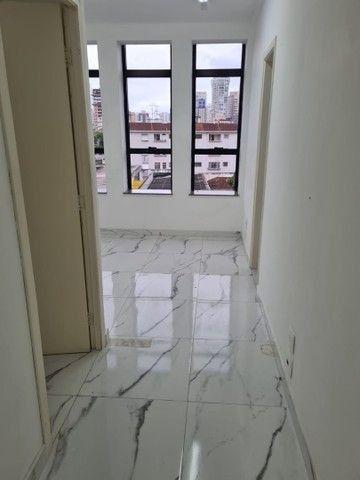 Sala para alugar, 45 m² por R$ 2.500,00/mês - Embaré - Santos/SP
