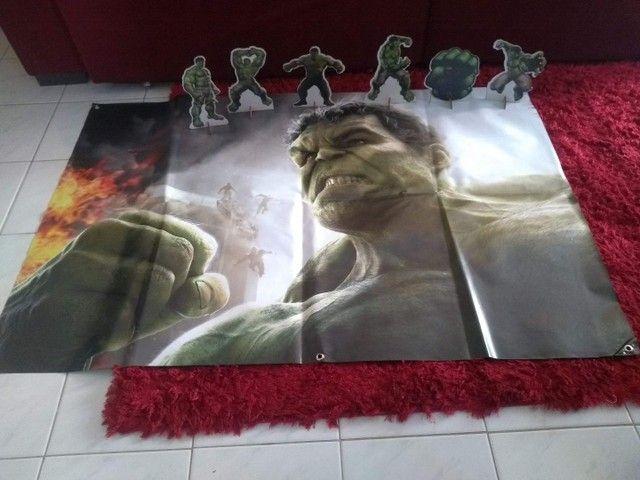 Kit Decoração Hulk