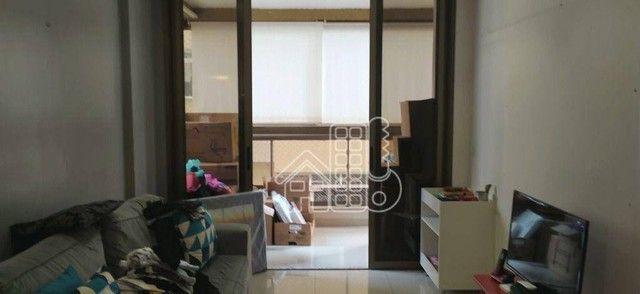 Apartamento com 3 dormitórios à venda, 98 m² por R$ 1.300.000,00 - Icaraí - Niterói/RJ - Foto 5