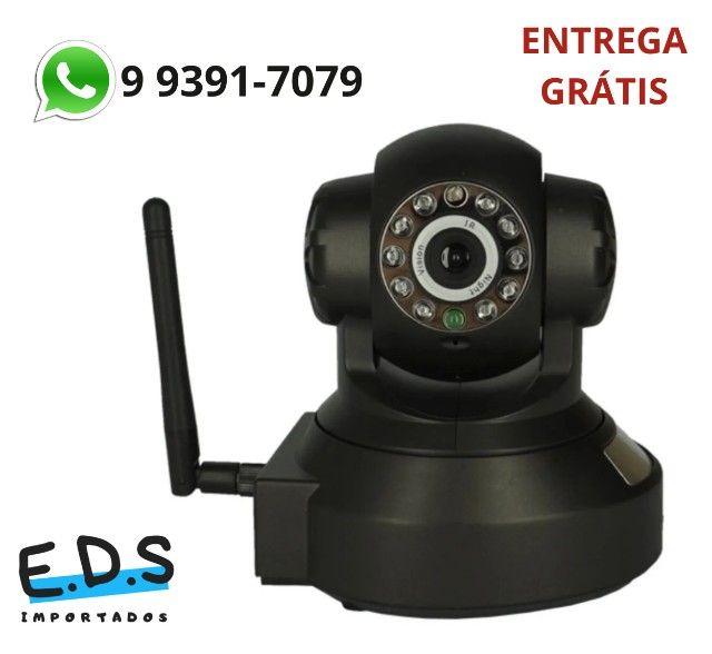 Câmera Vigilância Sensor de Movimento Infravermelho Alarme