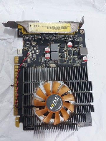 SOMENTE HOJE PROMOÇÃO placa de video GT630 2gb 128bit - Foto 2