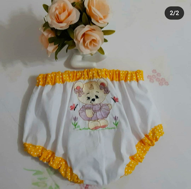 Enxoval para bebê bordados  - Foto 6