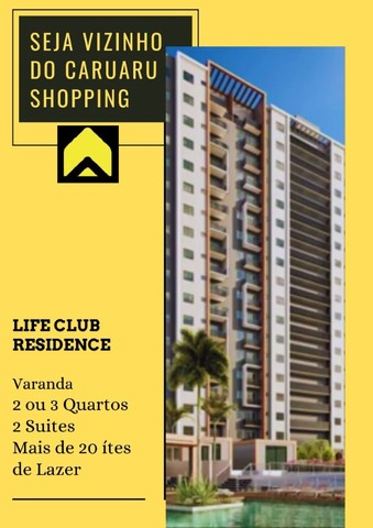 CV.  2 ou 3 Quartos nas Imediações do Caruaru Shopping