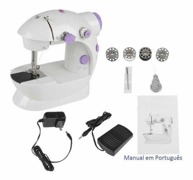 Mini máquina de costura doméstica  - Foto 2