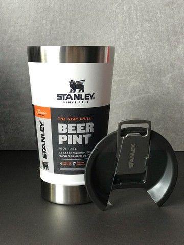 Copo de cerveja Stanley com abridor