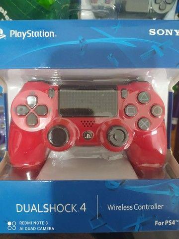 Controle PS4 dualshock 4 - Foto 6